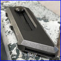 Ramon Chaves Knives Titanium CHUB Razor Blade Knife