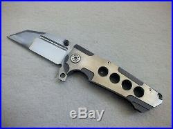 Rare Andre De Villiers (adv) Custom Tactical Invader Flipper Knife Not Butcher