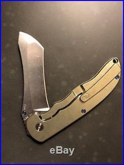 Rare GRIMSMO NORSEMAN #1437 Gold Blue Hardware Stonewashed Brand New Flawless