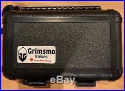 Rare GRIMSMO NORSEMAN #1622 Gold Diamond Blue Hardware Brand New Flawless