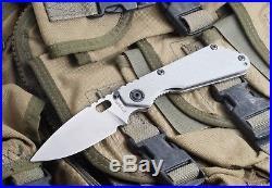 Rare Strider Knives Arctic SnG Lego CPM154 White/Grey! (SMF)