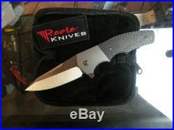 Reate Kirby Lambert Crossroads Knife Titanium/Carbon M390 Fiber New in Box