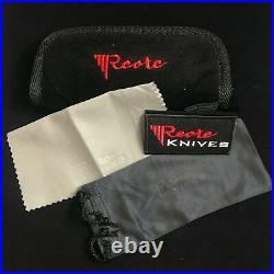 Reate Knives Tashi Bharucha Star Boy Flipper Folding Knife -Titanium BlueAno NEW