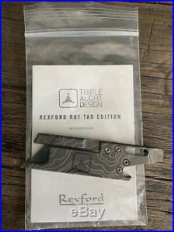 Rexford Knives RUT x Triple Aught Design TOPO V2
