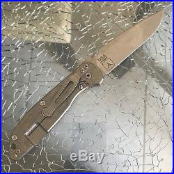 Rick Hinderer Knives Firetac Triple Aught Design TAD gear TOPO Special Edition