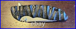 Rick Hinderer XM-18 3 Inch Spanto Custom New With Extras USA Made