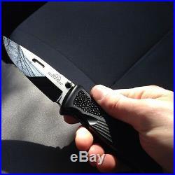 Rockstead SHIN DLC Japanese Folding Knife 3.5 YXR7 DLC Polished Blade