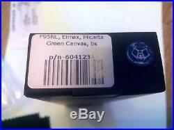 SHIROGOROV F95NL, Elmax, micarta Green Canvas, bearings