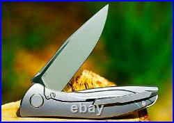 SHIROGOROV NeOn 3D FULL CUSTOM RARE COLLECTIBLE KNIFE CLOSED LIMITED SERIES 2013