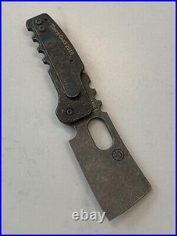 Serge Panchenko Custom Thorn Gen 3 Copper Friction Folder Knife