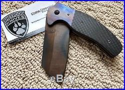 Sheepdog Knives Custom C-01c One-off Cleaver