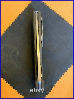 Shirogorov 111 Liner Lock Knife Carbon Fiber M390 (4.25 Stonewash)