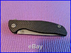 Shirogorov Hati Carbon Fiber/titanium Flipper
