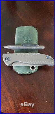 Shirogorov Knives CCKS 2018 Custom