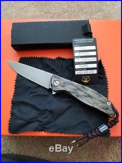 Shirogorov Knives F95 Camo MRBS M390 Blade Steel good condition