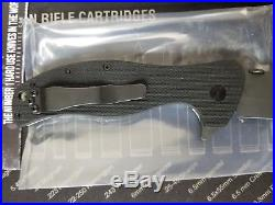 Sig Sauer Legion Trailing Tanto wave Knife by Ernest Emerson USA DISCONTINUED