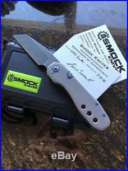 Smock Knives Sk23 San Mai Custom Timascus Mint In The Box