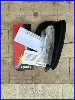 Spyderco Knives Military Knife Gray G10 Cruwear Milly Sprint C36GPGY