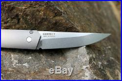 Stonewash Böhler M390 Blades Gray 7075 Aluminum Handle Assisted Pocket Knife Edc