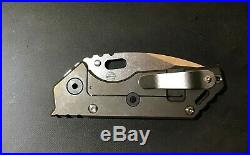 Strider 3/4 AR. 75 Brand New from 2/18 Drop, S35VN, Double Titanium scales