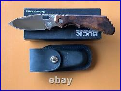 Strider Buck Limited Edition Knife Polished Blade Numbered