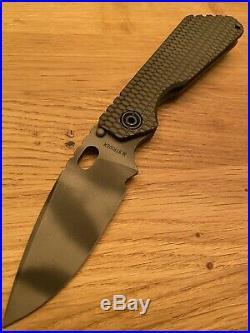 Strider Knives SMF, Battleship GG, Mick Strider, Strider Knives, Best Price 775