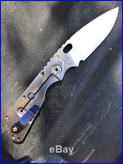 Strider Knives SMF CC Custom Anodized Folder
