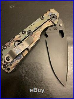 Strider Knives SMF, Mick Strider Knife, Strider A-tacs Camo, A-tacs Ghost