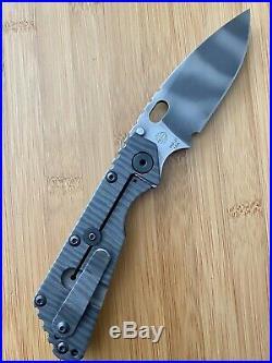 Strider Knives SMF PSF-27 Flamed Titanium