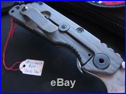 Strider Knives SNG TANTO Micromelt PD1 Rarity! For SMF Tad Gear Fans