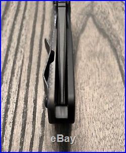 Strider Knives SNG Thick Dagger Grind Black Oxide CPM 20CV Blade