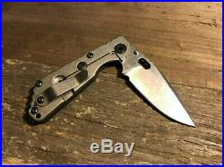 Strider Knives SnG Blk/ Industrial Limited Release 2019 Rare