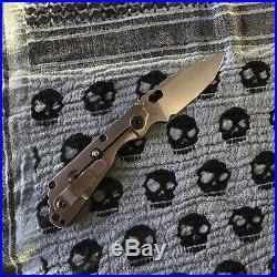 Strider Knives SnG CC Stonewashed / Black G10
