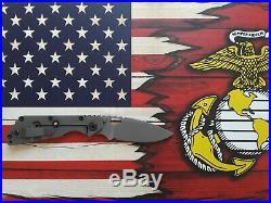 Strider SMF NSN Folding Knife USMC