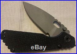 Strider SMF folding blade knife