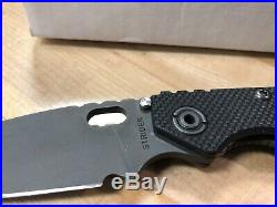Strider SNG Black Flag G-10 Scale, PSF27 Blade, Flamed Ti, Awesome