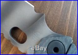 Strider SnG Frame Lock Knife OD Green Lego G-10 Tiger Stripe S30V Flamed Ti