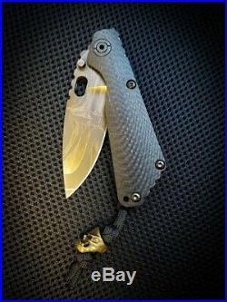 Strider Starlingear Collab SnG knife VERY RARE! Everett Leather Sheath