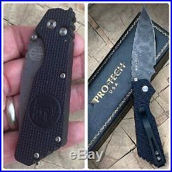 Strider knives ProT PT Knife C Nichols Dam@scus Blade S/E USN G9 #9/9 (Non Auto)