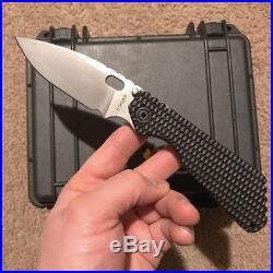 Strider knives SMF Hybrid in PSF-27 blade steel