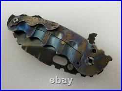 Todd Heeter M. O. W, Afterburner CPM3V Blade, Grenade Pin, Extra Spike Backspacer