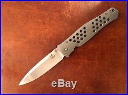 Tom Mayo Dr. Death XL with IKBS Custom Folding Knife