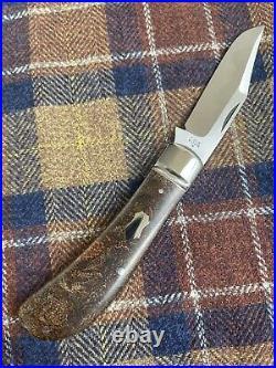 Tony Bose Custom Lannys Clip Slip Joint Pocket Knife