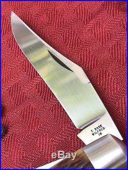 Tony Bose Premium Stockman Old Bone Custom Knife Handmade By The Man