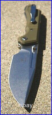 Triple Aught Design TAD Dervish Dauntless knife