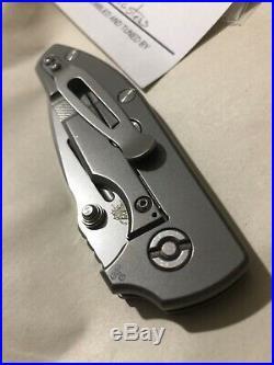 Triple Aught Design TAD Gear Compact Dauntless Rick Hinderer Mid Tech Black G10