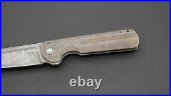 Tuffknives/Geoff Blauvelt Kwaiken, CTS-XHP, Distressed/Battleworn Titanium