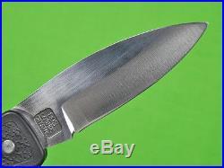 US Custom Hand Made by DAVID BOYE Folding Pocket Knife