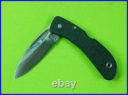 US Custom Made Handmade by DAVID BOYE Folding Pocket Knife