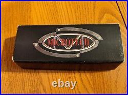 Used Microtech Marfione / Strider DOC Green, Elmax Blade, Manual Flipper